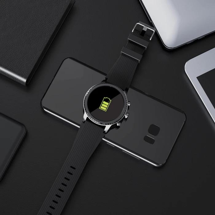 Havit M9005W 智能手錶 (黑色/粉色) [預訂:3-7工作天寄出]