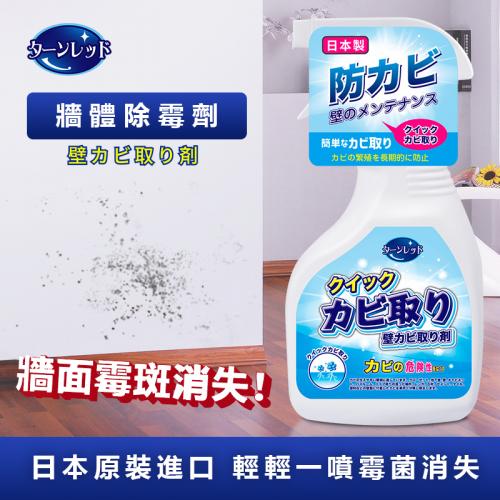 日本進口牆體除霉噴劑 (300ml) - 去除家居牆身霉菌