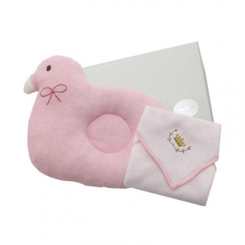 Katoji 嬰兒授乳枕 和哂五重紗布手帕 禮品套裝
