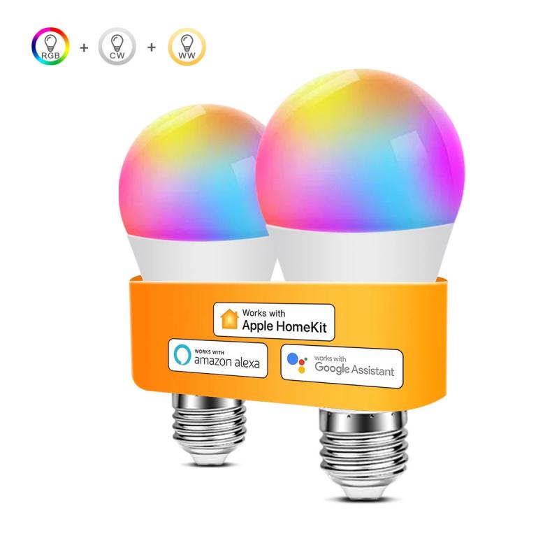 智能燈泡Apple HomeKit E27,可調光2700K-6500K