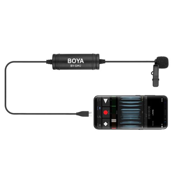 BOYA BY-DM2 夾領收音咪(Type-C)