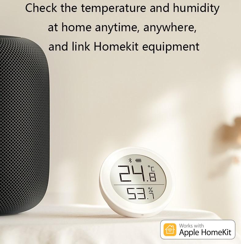 Qingping HomeKit 藍牙溫度計濕度計