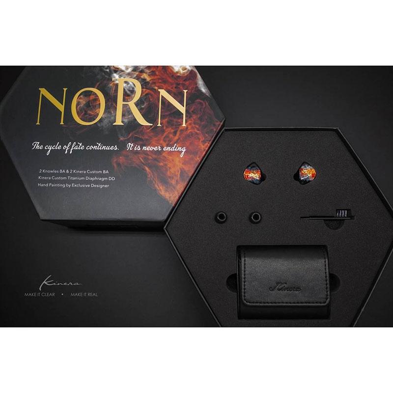 Kinera Imperial Norn 4鐵1圈入耳式耳機