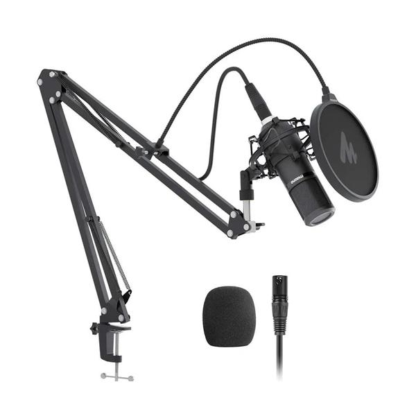 MAONO 專業心形聲音 XLR 電容麥克風套件 AU-PM320S