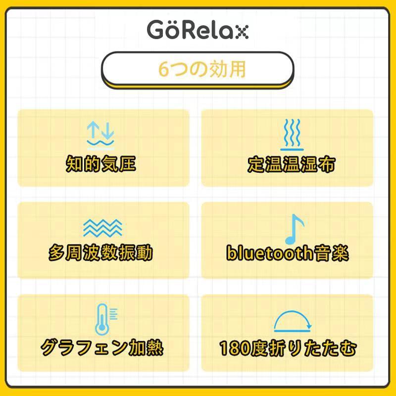 韓國 GoRelax EMV-3000「眼適康」4D溫感智能按摩眼罩 送日本 Neove 折疊伸縮風扇 乙個