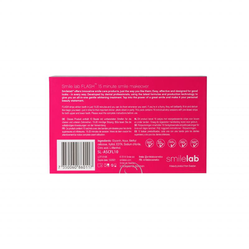 smilelab FLASH 速效系列美白牙貼 10片裝 ( 急救用)