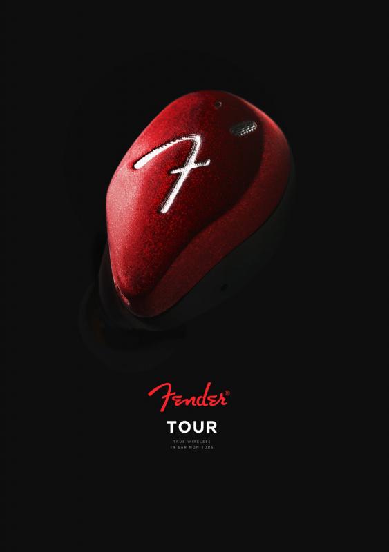 """Fender Tour """"Burgundy"""" 紅色,限量特別版"""