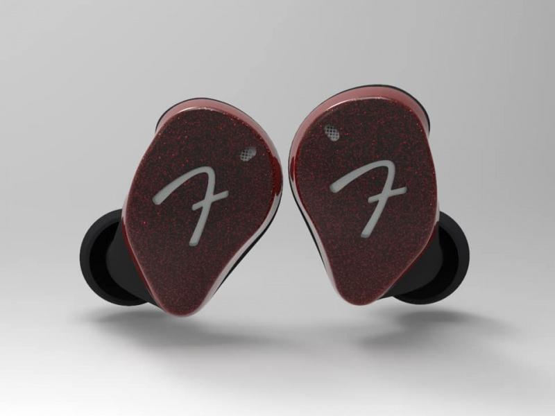 Fender Tour 真無線入耳鑑聽耳機 Burgundy Red