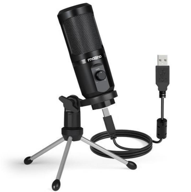 MAONO USB Gaming Microphone with Mic Gain [AU-PM461TR]