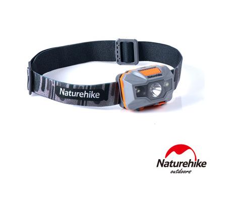 Naturehike 輕便防水USB充電四段式LED頭燈 (NH00T002-D) 夜間露營行山必備