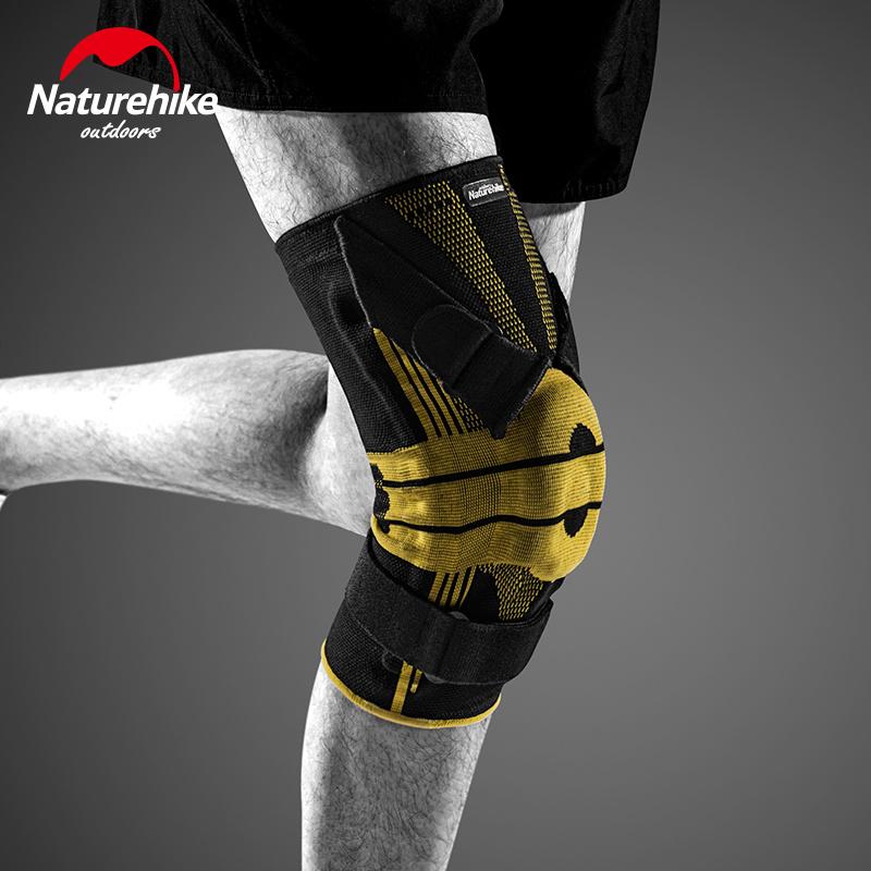 Naturehike男士運動加壓彈性護膝NH20HJ005