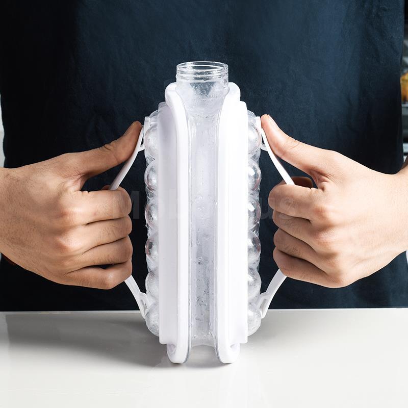 [它是冰格也是冰壺] 德國 Plazotta 冰壺式冰球冰格