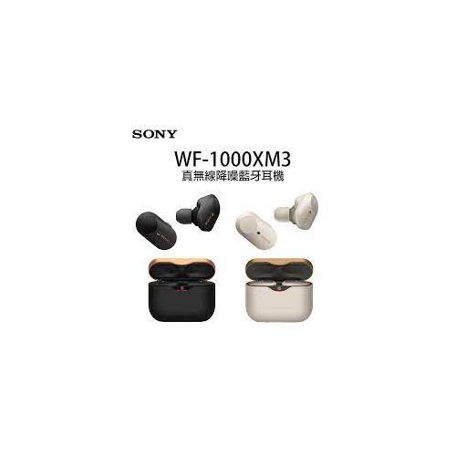 Sony WF-1000XM3 真無線降噪藍牙耳機 [2色]