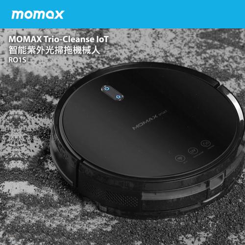 MOMAX Trio-Cleanse 智能紫外光掃拖機械人#RO1S