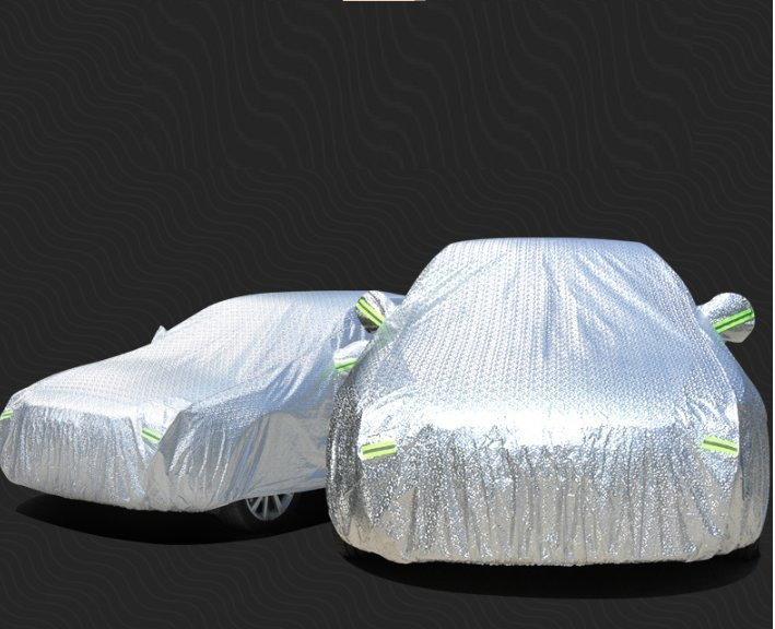 全封閉PEVA鋁膜防曬全身車罩Car Cover車冚 (BMW 7系或同級 Benz S)