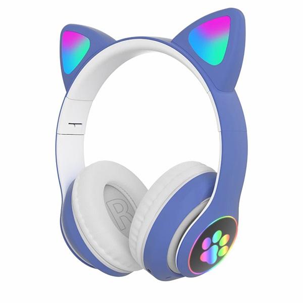 韓國B&C 新款貓耳朵頭戴式5.0無線藍牙耳機