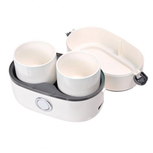 Thanko - 雙碗式蒸煮便當飯盒