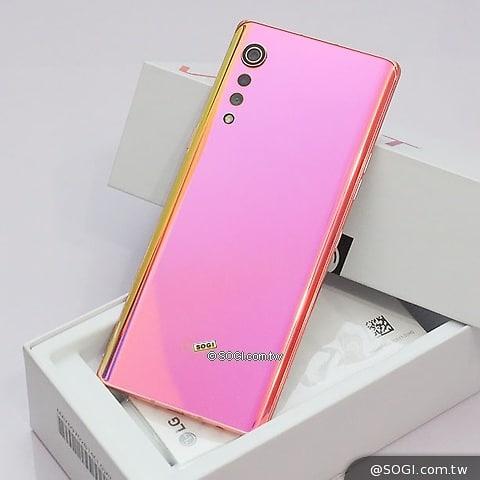 LG 女Fans必備~ LG Velvet 5G (8+128可加副屏左右雙顯示) $1899⚡️