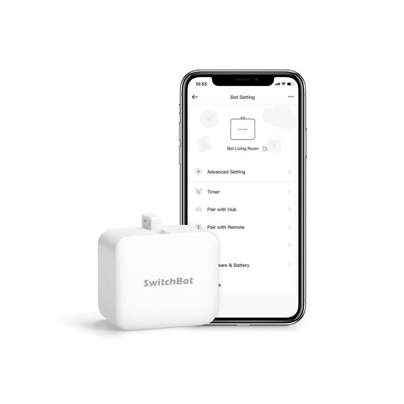 SWITCHBOT HUB MINI + BOT STARTER KIT 智能紅外線遙控+按鈕套裝