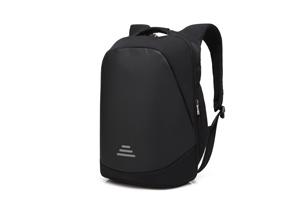 CoolBell - 15.6寸二代防盜雙肩電腦背包 (黑)