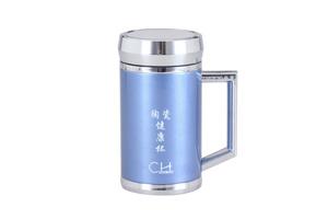 CH - (籃) CH-029 骨瓷養生保溫瓶