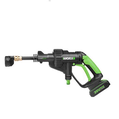 WORX 威克士 WU629 二代便攜高壓洗車水槍 雙2.0A電池套裝