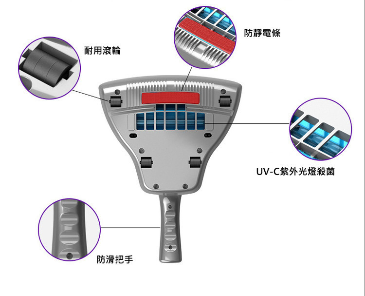 HK SMART LIVING 除蟎吸塵機 (香港插頭) 跟送2濾芯