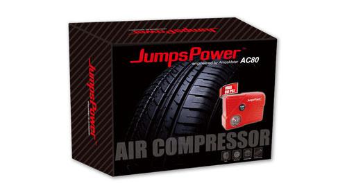 JumpsPower AC80 電動充氣泵 香港行貨