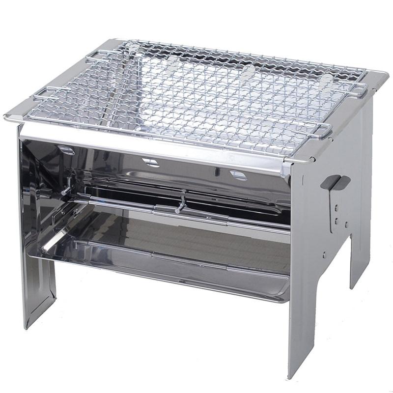尾上製作所 F-2527 折疊式燒烤爐