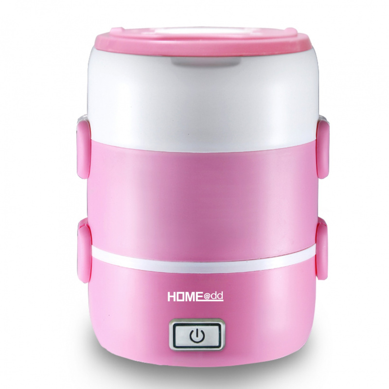 HOME@dd® 電熱蒸煮飯盒 (雙層) 2.0L (HB20) [2色]