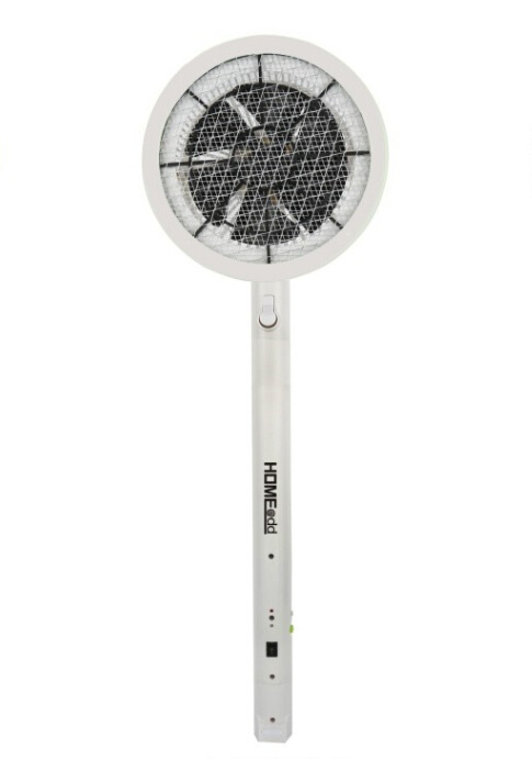 HOME@dd 吸風式旋風伸縮充電電蚊拍 (HM12)
