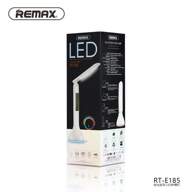 Remax LED 護眼座檯燈 + RGB 夜燈 eye care table lamp (RL-E185)