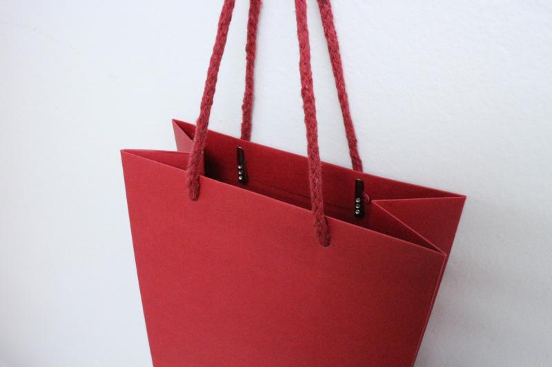 特厚酒紅色酒紙袋 10個廠價特惠裝 多用途包裝用品 SK-PAPER01A