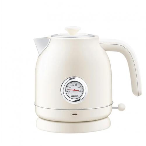 OCooker 圈廚 復古溫度錶電熱水壺 [1.7公升]