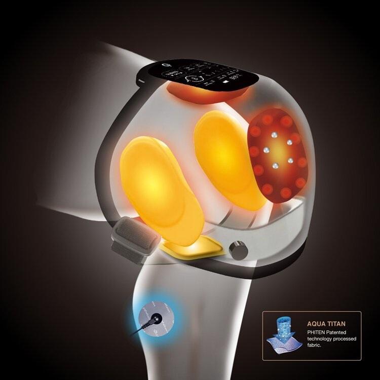 PHITEN 膝部氣墊按摩器 KM202001 (進階版)