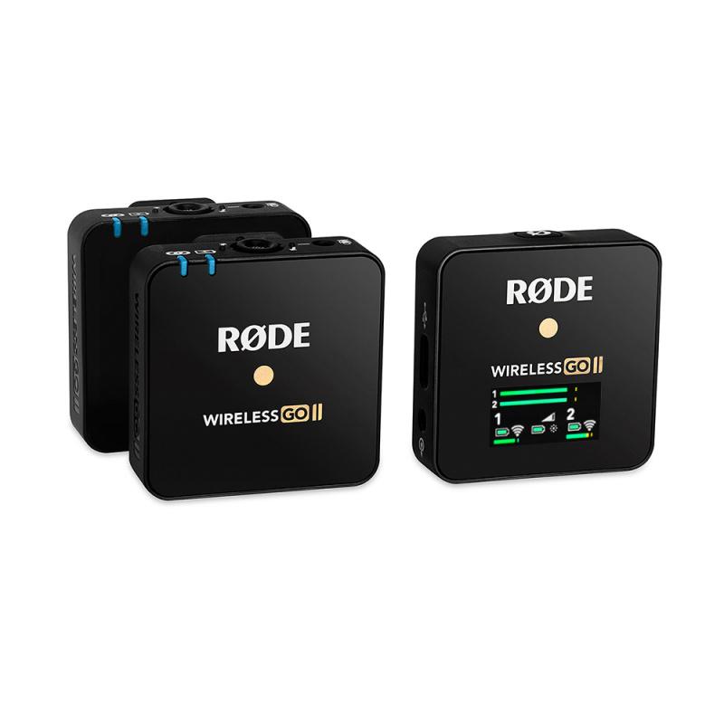 RODE Wireless Go II 2.4GHz 一拖二無線收音咪