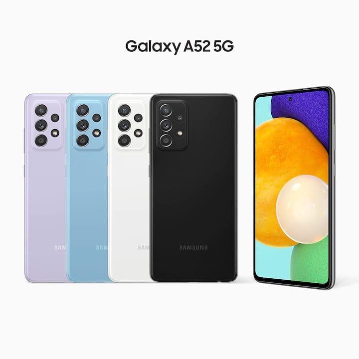 全新推介~三星Galaxy A52 5G - 嶄新設計,完美視覺享受 - (8+128) $2599🎉