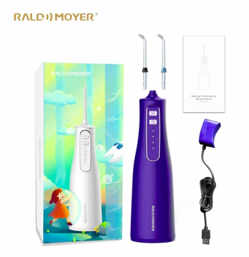 Raldmoyer AT120 無線沖牙器水牙線機 (兩色)