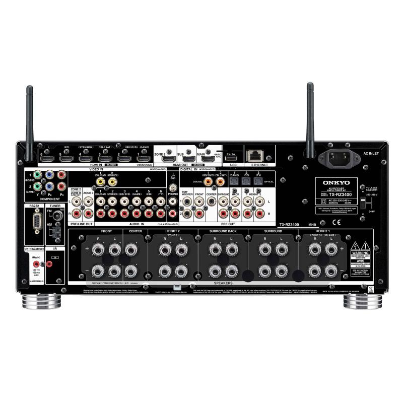 Onkyo TX-RZ3400 11.2聲道旗艦影音擴音機