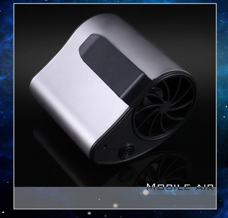 內置電池 1200MAH CASE STATION 夏天戶外工作神器 USB 移動随身降温扇 風扇