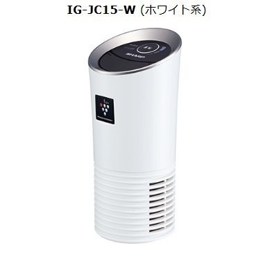 Sharp IG-JC15 高濃度除菌離子空氣清新機 [2色]