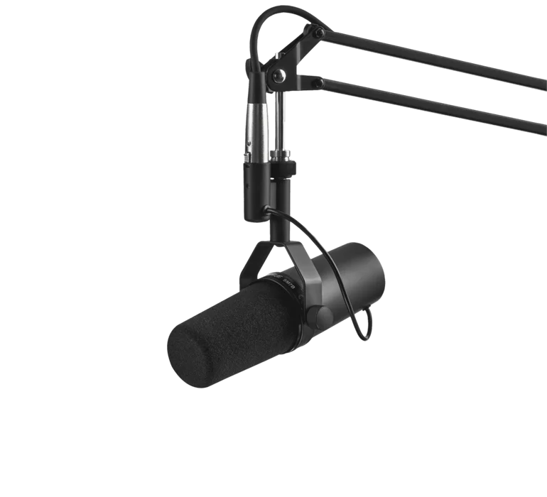 SHURE Cardioid Studio Microphone SM7B