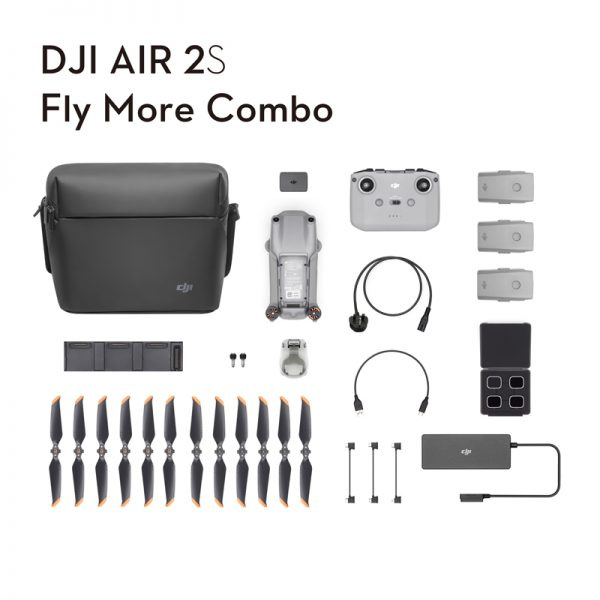 [OTG代理一年保養] DJI AIR 2S [單機 / Fly More Combo ]