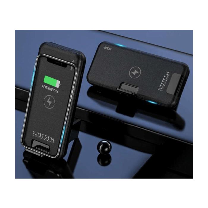 KIO K031 內置充電線 無線充電器 手機架 (3合1)(包順豐快遞免運費)