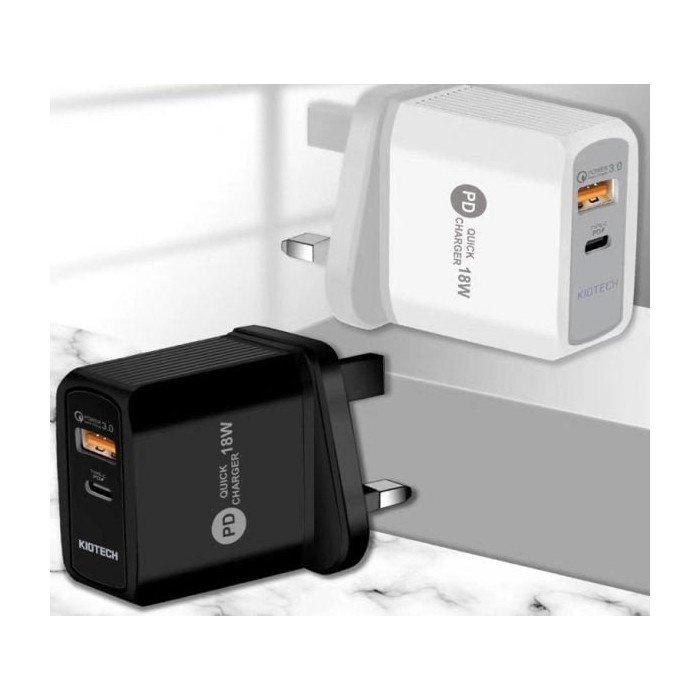 KIO QC3.0 x PD 快速充電器(包順豐快遞免運費)