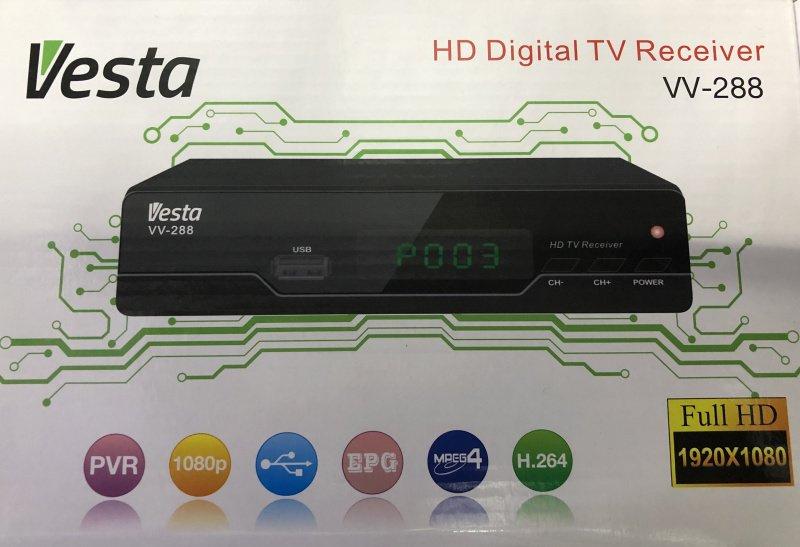 Vesta 數碼電視高清機頂盒 (VV-288)