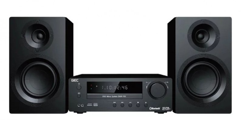 GIEC DVD微型影音系統 DVHF-703
