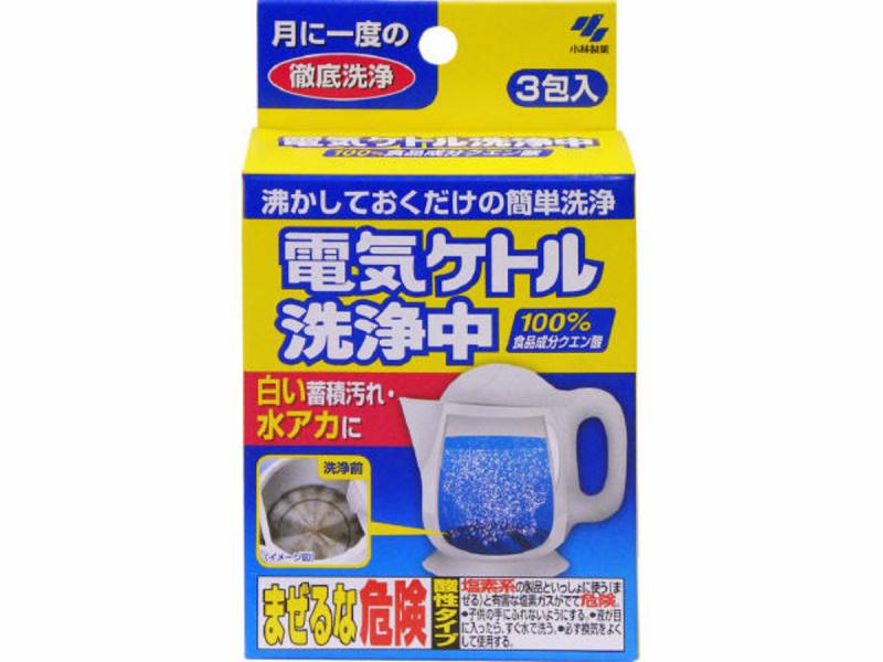 小林製藥熱水壺檸檬去除污除菌清潔劑 [15g] [3包]