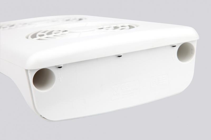 HUGOGATE 6吋頭充電式電風扇 - 0602
