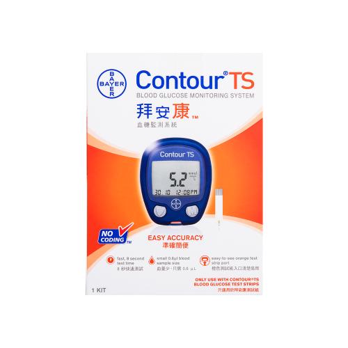 CONTOUR TS®血糖測試機
